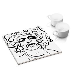 designersgroup - dg-selection Untersetzer - bekannte Musiker: Jimi Hendrix
