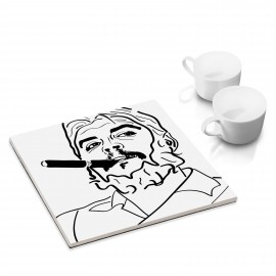 designersgroup - dg-selection Untersetzer - bekannte Köpfe: Ché Guevara
