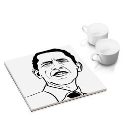 designersgroup - dg-selection Untersetzer - mit Politiker: Barack Obama
