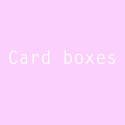 designersgroup - Card-Boxes