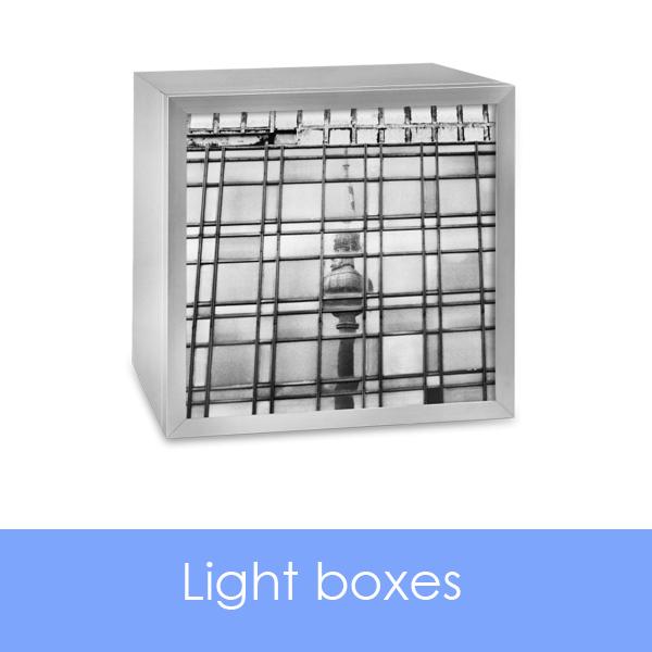 designersgroup presents Light Boxes