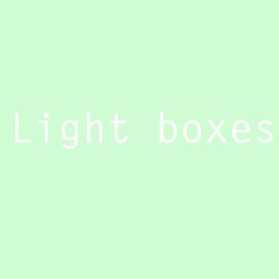 designersgroup - Light boxes